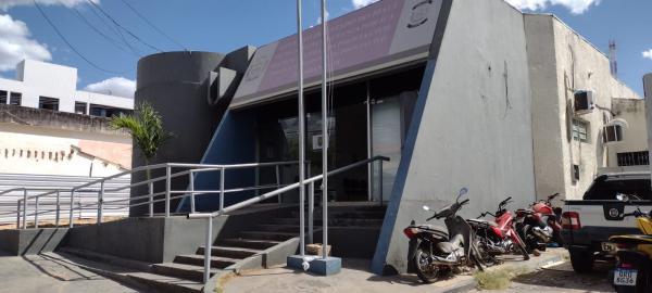 Delegacia Regional de Polícia Civil em Floriano.(Imagem:FlorianoNews)