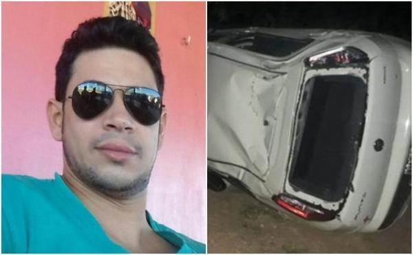 Homem morre após capotar carro na PI-455.(Imagem:Cidades na Net)