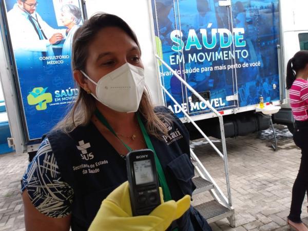 Busca Ativa realiza testagem entre mototaxistas e taxistas de Floriano(Imagem:FlorianoNews)