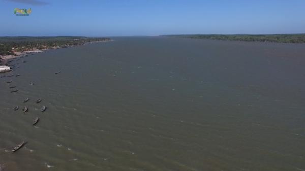 Exploração do turismo no Delta do Parnaíba.(Imagem:Reprodução/TV Clube)
