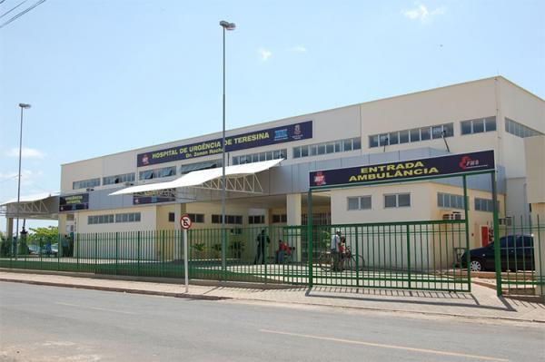 Hospital de Urgência de Teresina (HUT).(Imagem:Arquivo)