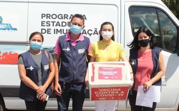 Doses de vacina de Barão de Grajaú serão recebidas em Floriano(Imagem:Reprodução)