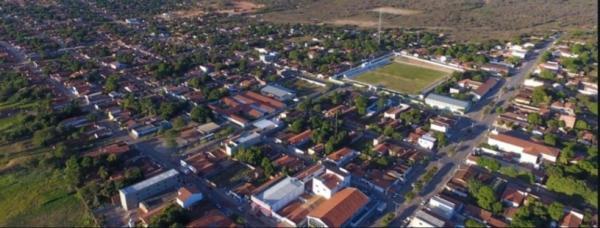 Curimatá, no Sul do Piauí.(Imagem:Divulgação/ Prefeitura de Curimatá)