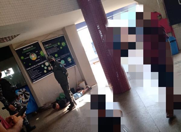 Homem portando drogas é preso no Terminal Rodoviário de Floriano(Imagem:Reprodução)