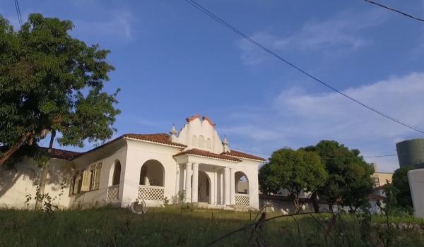 Sanatório Meduna, em Teresina.(Imagem:TV Clube)