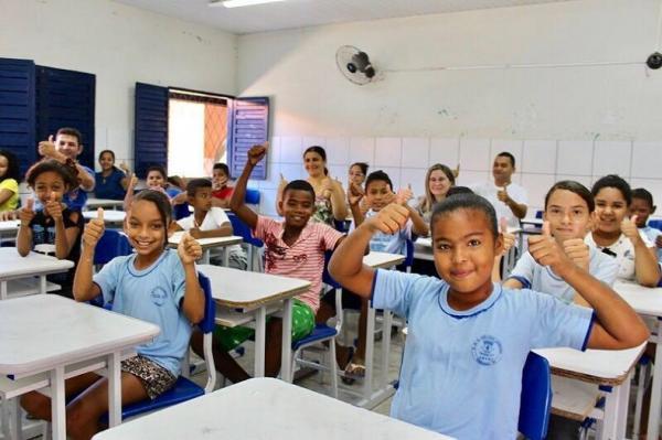 Bom Jesus, Teresina e Oeiras lideram ranking do Ideb no Piauí; confira os 10 primeiros.(Imagem:Divulgação/Prefeitura de Teresina)
