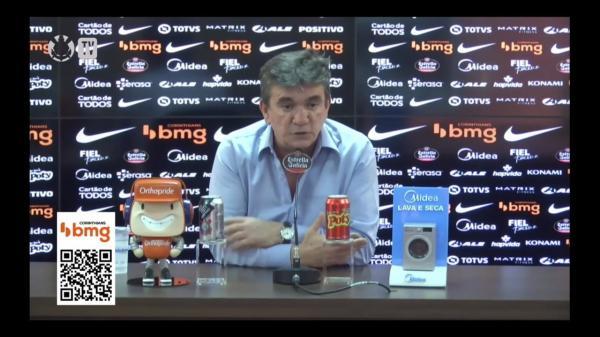 Andrés diz que jogadores do Corinthians estão assustados(Imagem:Reprodução)