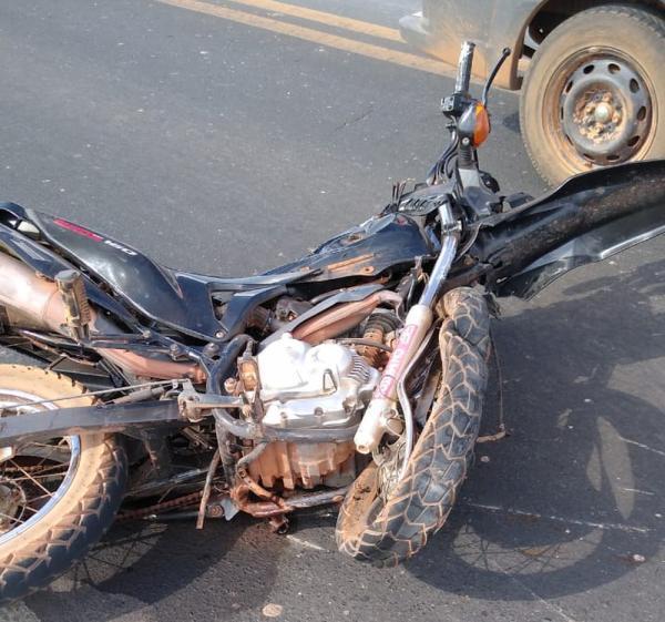 Motociclista morre em colisão com automóvel na BR-316, em Teresina.(Imagem:Reprodução)