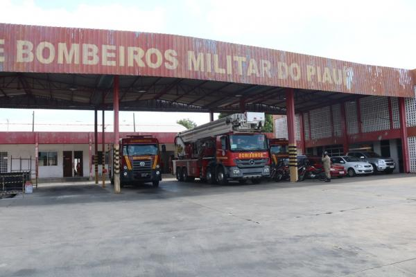 Comando Geral do Corpo de Bombeiros do Piauí, em Teresina(Imagem:Lucas Marreiros)