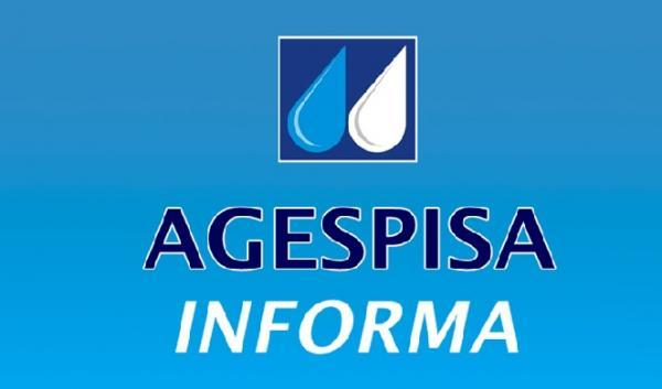 Agespisa interrompe abastecimento em alguns bairros de Floriano para corrigir vazamento(Imagem:Divulgação)