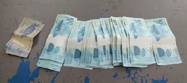 Homem é preso em Floriano portando dinheiro falso(Imagem:Divulgação)