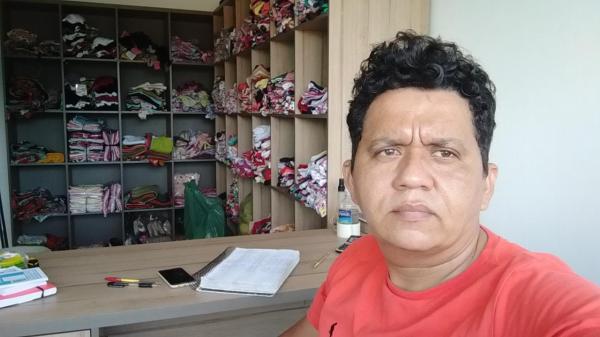 Edson Veloso, é empresário no ramo de moda íntima na cidade de Floriano.(Imagem:Divulgação/Arquivo Pessoal)