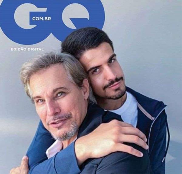 Enzo revela o que mais admira em Edson Celulari e relembra separação do ator com Cláudia Raia(Imagem:Reprodução)