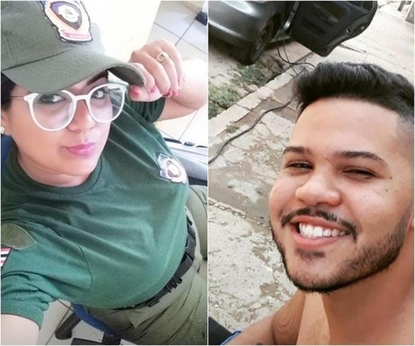 Carlos Eduardo dos Santos Valadão e Camila Gabriely Lopes Oliveira(Imagem:Reprodução)