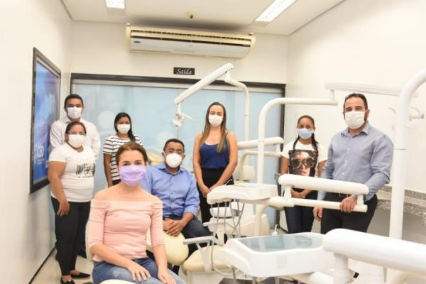 Inaugurado novo Centro de Especialidades Odontológicas de Floriano(Imagem:Secom)