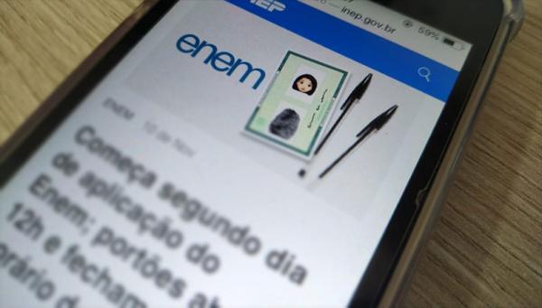 Novos inscritos no Enem farão provas em janeiro de 2022, anuncia o MEC(Imagem:Reprodução)