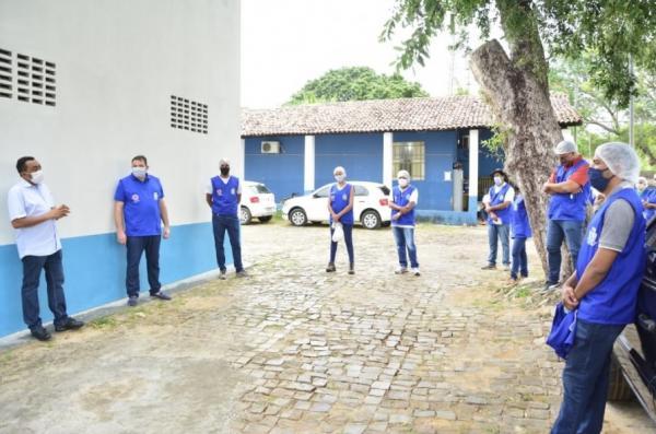 Vigilância Sanitária de Floriano realiza