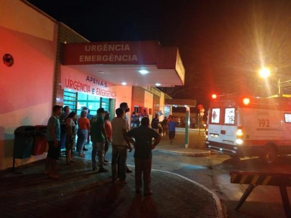 Gás de cozinha explode e deixa duas pessoas feridas no norte do Piauí(Imagem:Reprodução)