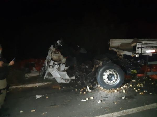 Acidente deixou quatro mortos na BR-020, em Pio IX.(Imagem:Divulgação/PRF)