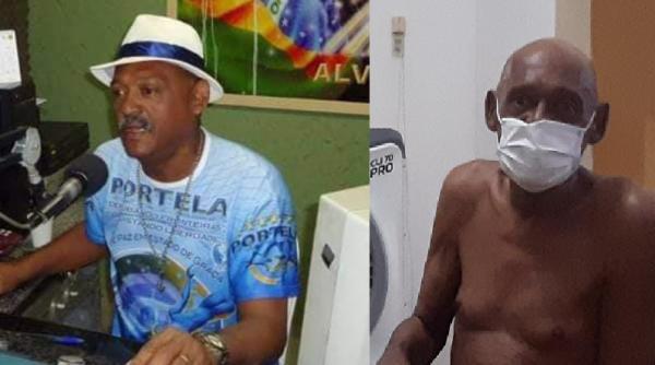 Morre em Floriano o grande comunicador e sambista Renato Rocha.(Imagem:Divulgação)