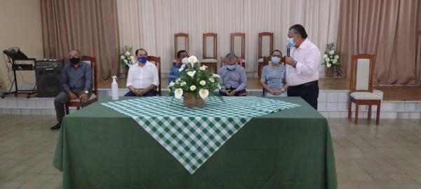 Mesa de honra(Imagem:FlorianoNews)