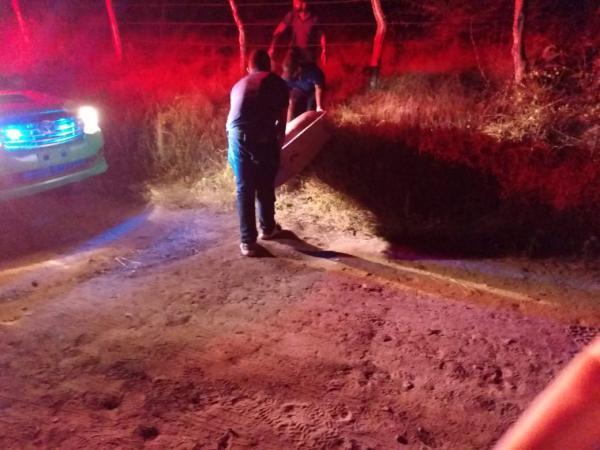 Encontrado o corpo do suspeito de tentativa de feminicídio em Floriano(Imagem:FlorianoNews)