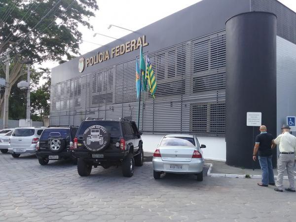 Sede da Polícia Federal em Teresina(Imagem:Catarina Costa)