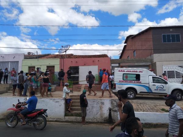 Três pessoas são encontradas mortas dentro de casa em São Julião (PI).(Imagem:Divulgação/Portal É Notícias)