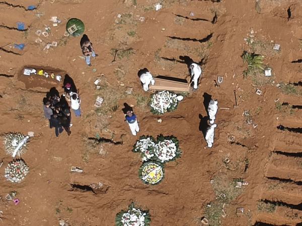 Brasil chega a 130 mil mortes pela Covid-19(Imagem:Reprodução)