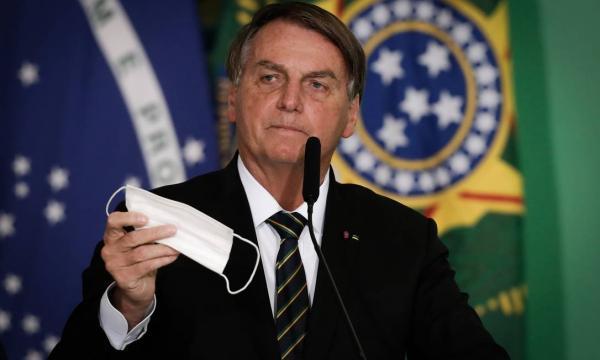 Presidente Jair Bolsonaro.(Imagem:Pablo Jacob)