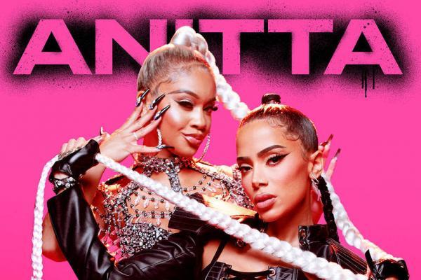 Anitta anuncia colaboração com rapper americana Saweetie(Imagem:Divulgação)