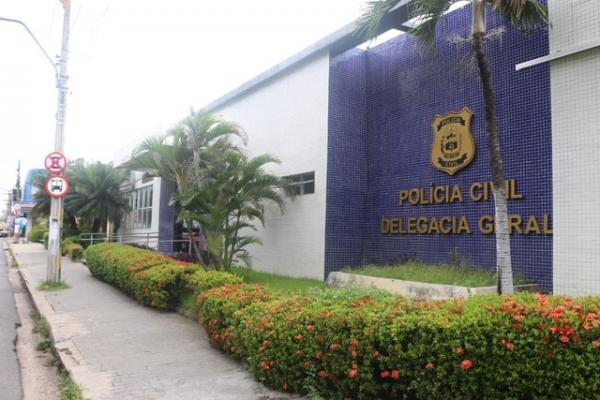 Delegacia Geral da Polícia Civil do Piauí.(Imagem:José Marcelo/G1 PI)