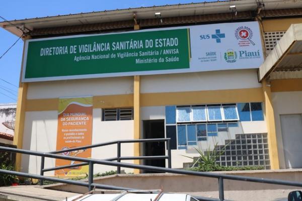 Vigilância Sanitária do Piauí(Imagem:Lucas Marreiros/G1)