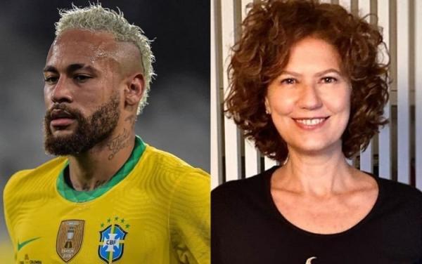 Neymar e Patrícia Pillar(Imagem:Reprodução)