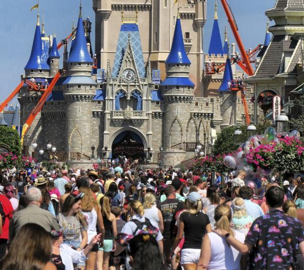 Parque da Disney(Imagem:Reprodução)