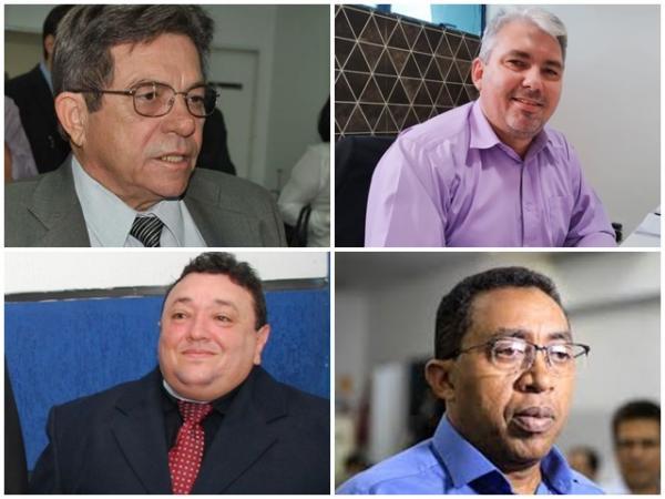 Avelino Neiva, Mauricio Bezerra, Bilú e Joel Rodrigues.(Imagem:Divulgação)