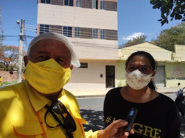 Coordenadora Regional da Avaliação de Fluência, Glauce Barros(Imagem:FlorianoNews)