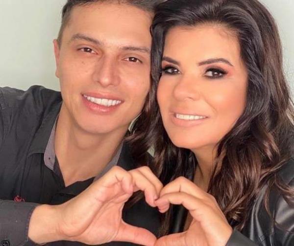 Mara Maravilha e noivo testam positivo para a Covid-19(Imagem:Reprodução)