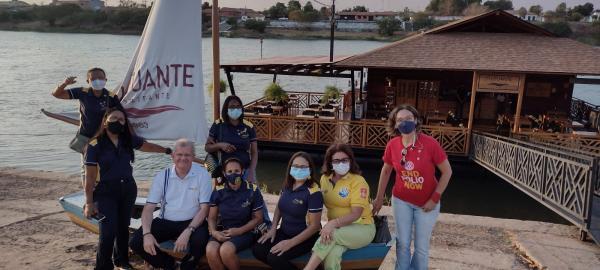 Governador do Rotary Distrito 4490 visita Floriano e Barão de Grajaú(Imagem:FlorianoNews)