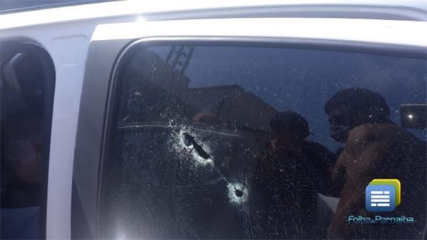 Empresário é morto a tiros dentro do próprio carro em Parnaíba(Imagem:Reprodução)