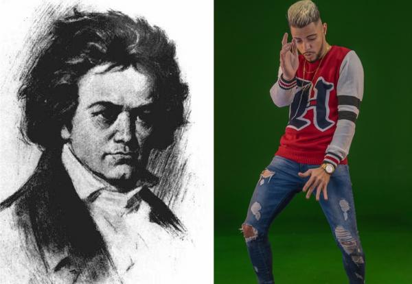 5ª Sinfonia de Beethoven ganha remix brega-funk nos 250 anos do músico alemão(Imagem:Reprodução)