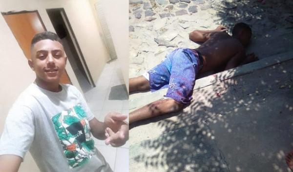 Jovem de 18 anos é executado a tiros no bairro Primavera em Parnaíba(Imagem:Reprodução)