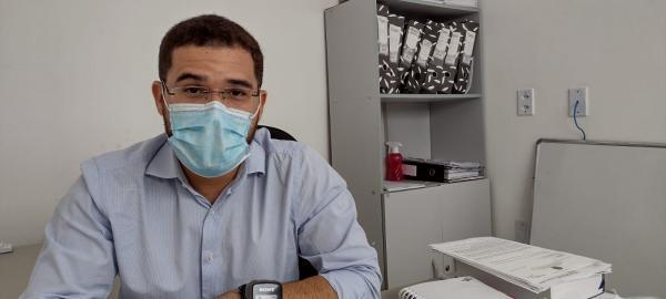 Secretário de Governo, Bento Viana.(Imagem:FlorianoNews)