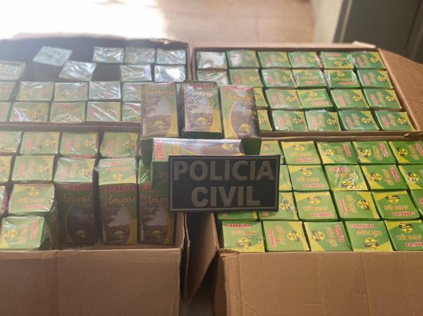 Polícia apreende medicamentos falsificados na Bahia.(Imagem:Divulgação)